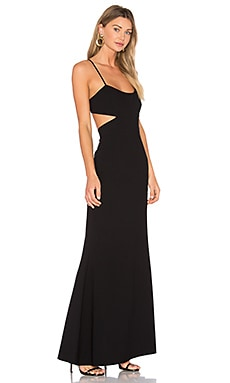 Flare Gown in Black