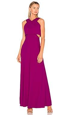 Вечернее платье с v-образным вырезом - JILL JILL STUART