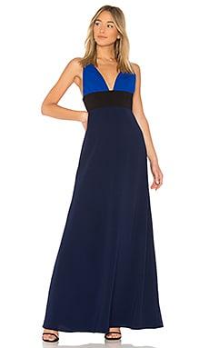 Купить Вечернее платье v neck - JILL JILL STUART, Платья, Китай, Синий