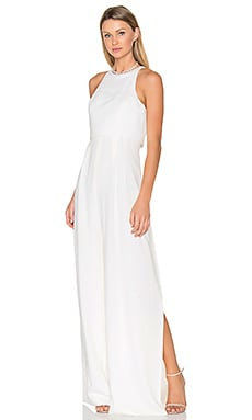 Sleeveless Jumpsuit in Off White