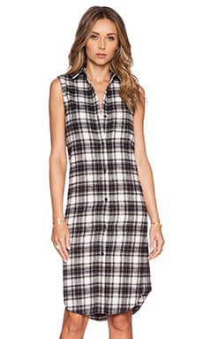 Jenni Kayne Shirt Dress in Black