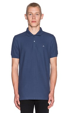 J. Lindeberg Rubi Slim JL Pique Polo in Washed Blue