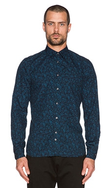 J. Lindeberg Dani Button Down in Blue