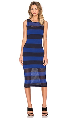 John & Jenn by Line Faith Stripe Dress in Hey Sailor