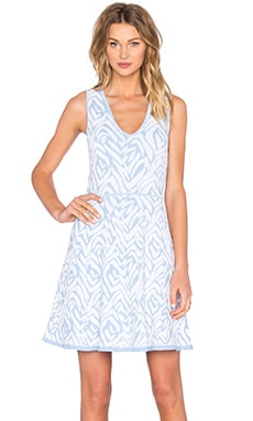 Almina Shift Dress in Polar Ice