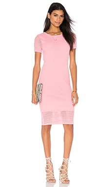 John & Jenn by Line Joyce Midi Dress in Lipstick