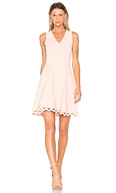 Madelyn Mini Dress in Peach Melba