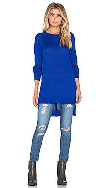 John & Jenn by Line Jillian Hi Low Sweater in Royal
