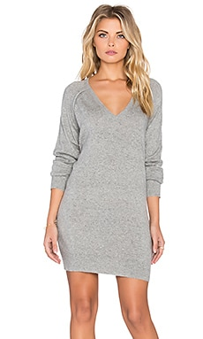 John & Jenn by Line Fraser V Neck Sweater in Melange