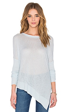 Noah Asymmetric Sweater in Head in The Cloud