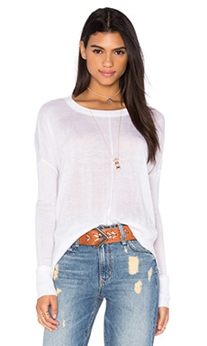 John & Jenn by Line Bella 3/4 Sleeve Sweater in Ivory