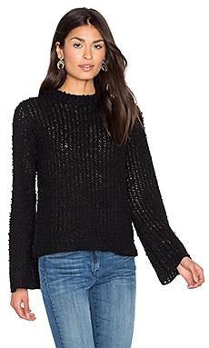 John & Jenn by Line Auriel Sweater in Caviar