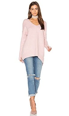 Gala V Neck Sweater en Sherbert