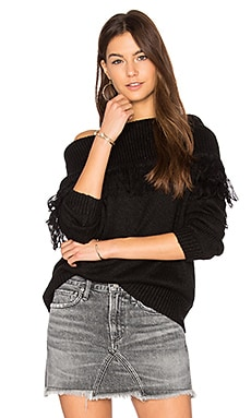 Beau Sweater in Caviar