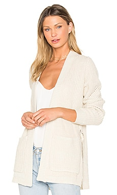 Stella Long Cardigan in Peaches N Cream