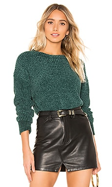 X REVOLVE Alana Chenille Sweater John & Jenn by Line $30 (FINAL SALE)