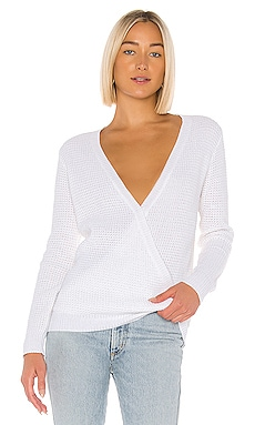 X REVOLVE Cross Front Sweater John & Jenn by Line $50