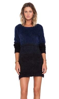 John & Jenn by Line Casey Brooks Sweater in Back To Blue
