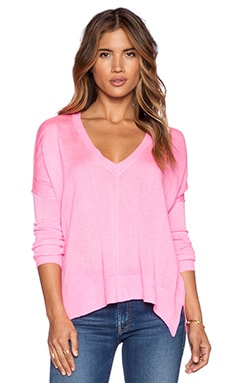 John & Jenn by Line Bellamy V Neck Pullover in Flashdance