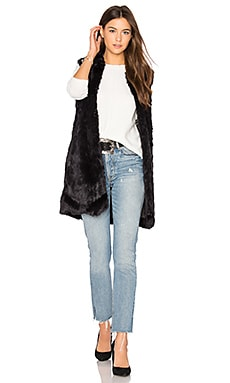 Laurent Faux Fur Vest