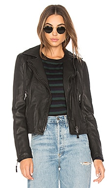 Nicholas Leather Moto Jacket
