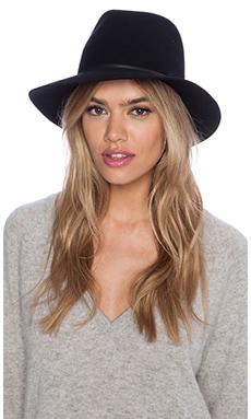 Janessa Leone Vera Hat in Black