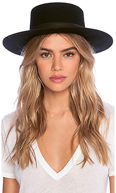 Gabrielle Hat in Black