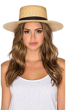 Janessa Leone Klint Hat in Natural