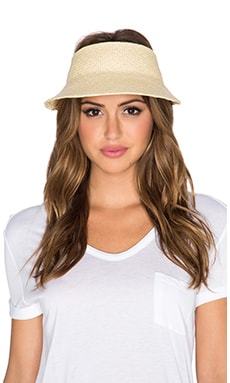 Janessa Leone Juhl Visor in Natural
