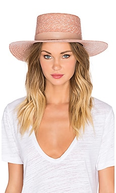 Calla Bolero Hat in Light Pink