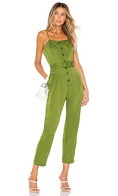 Strapless Belted Jumpsuit J.O.A. $60