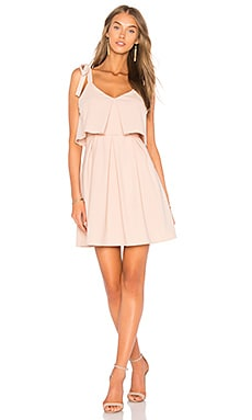Ribbon Tie Flare Dress