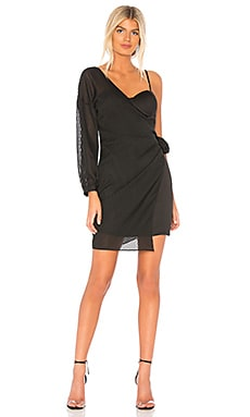 Tie Side One Shoulder Dress J.O.A. $74