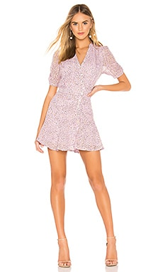 Buttoned Down Polka Dot Dress J.O.A. $94