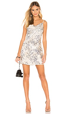 Cowl Neck Mini Dress J.O.A. $63