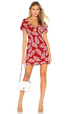 Tie Front Mini Dress J.O.A. $65