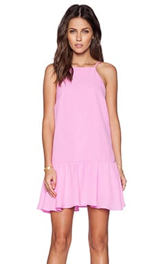 J.O.A. Dress in Rose Pink