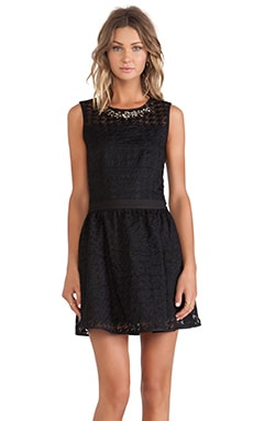 J.O.A. Embellished Dress in Black