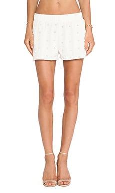 Studded Lace Shorts