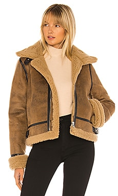 Faux Fur Coat J.O.A. $164