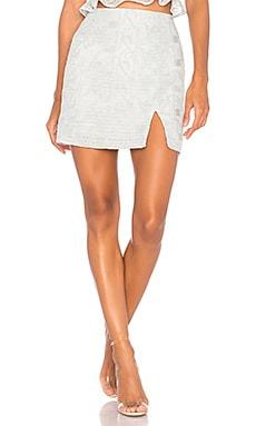 Lace Mini Skirt J.O.A. $35