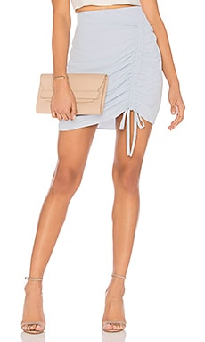 Ruched Front Mini Skirt J.O.A. $36