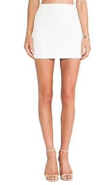 Jacquard Sequin Skirt