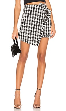 Tweed Mini Skirt J.O.A. $82
