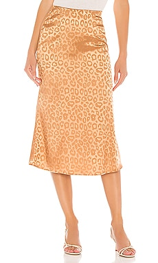 Woven Bias Cut Midi Skirt J.O.A. $35