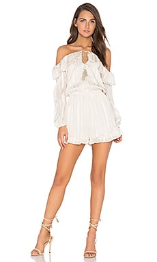 Cutout Romper in Ivory