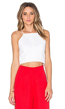 TOP CROPPED BOUTONNÉ