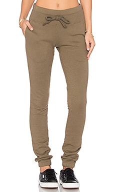 Walk This Way Pant in Army Green