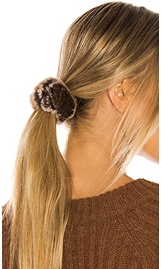 Rex Rabbit Fur Scrunchie jocelyn $20 NEW ARRIVAL