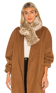 Faux Fur Pull Thru Scarf jocelyn $65